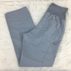 Cherokee S Maternity Scrub Pants Gray Stretch Bell
